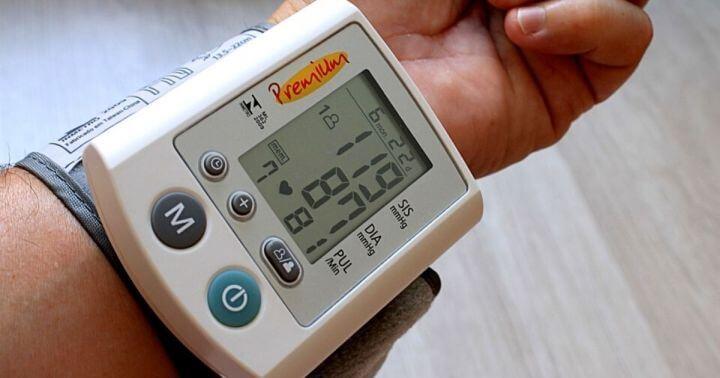 Image of measuring Blood Pressure